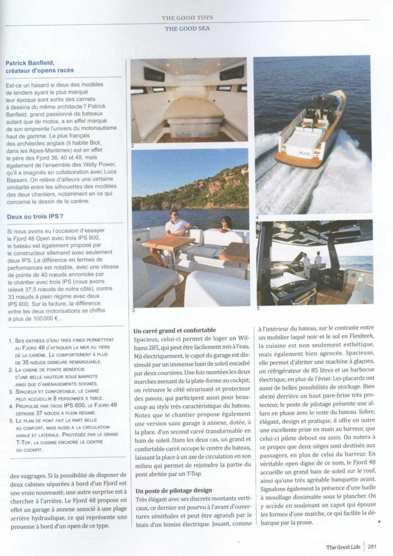 fjord 48 open l open ultime the good life n 22 1449