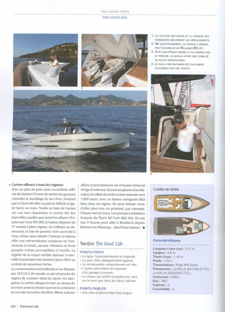 fjord 48 open l open ultime the good life n 22 1451
