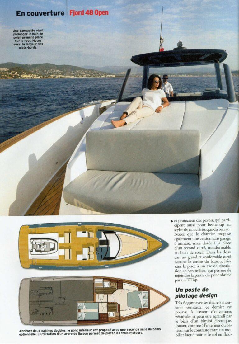 neptune n 235 novembre 2015 fjord 48 open le nec plus ultra du day boat fashion 1258