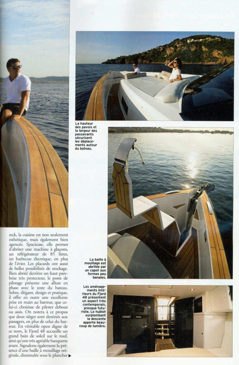 neptune n 235 novembre 2015 fjord 48 open le nec plus ultra du day boat fashion 1259