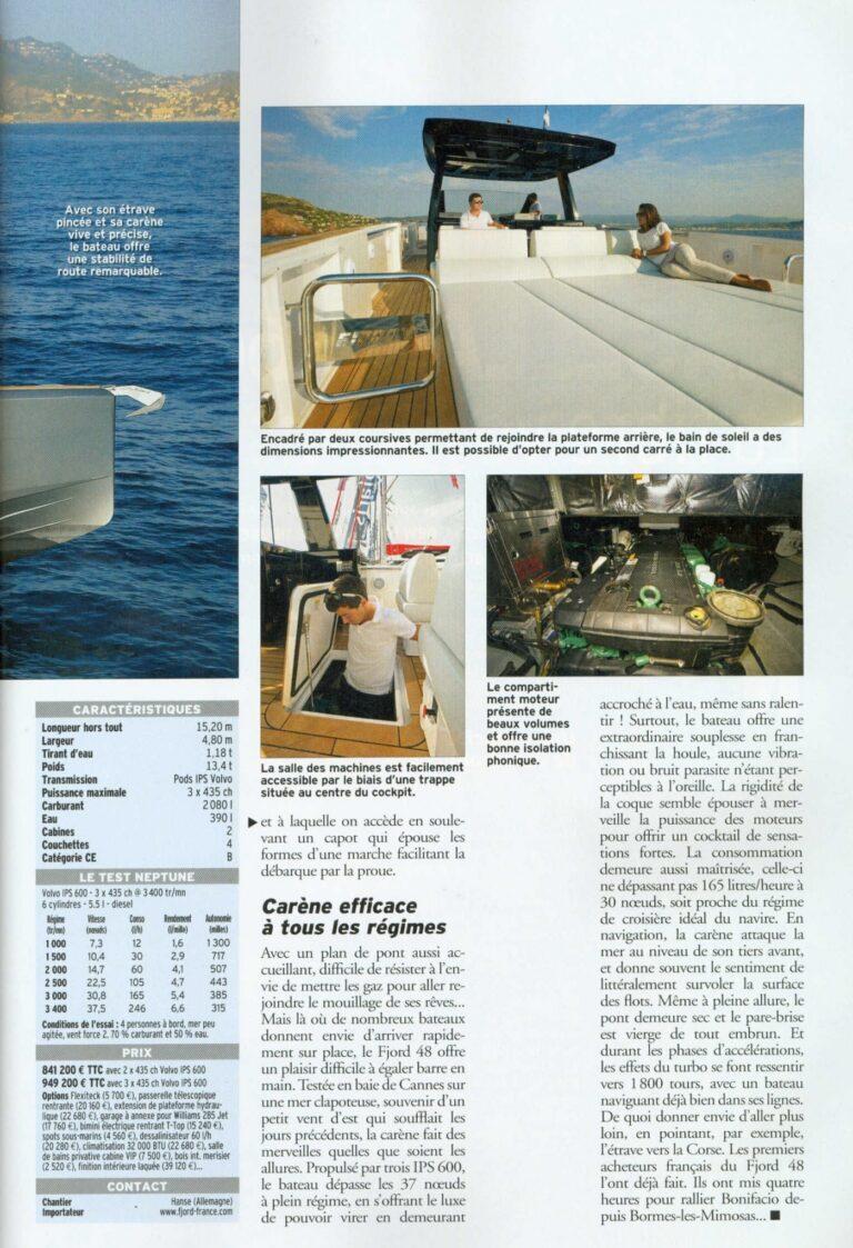 neptune n 235 novembre 2015 fjord 48 open le nec plus ultra du day boat fashion 1262