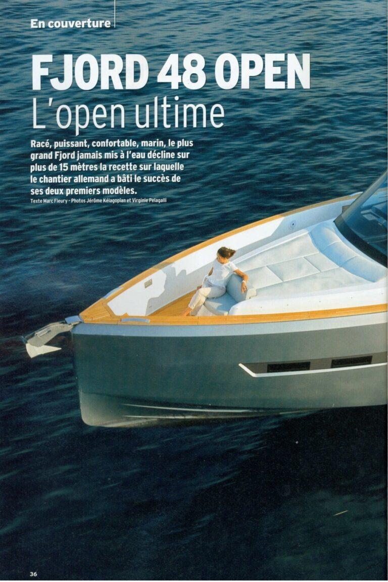 neptune n 235 novembre 2015 fjord 48 open le nec plus ultra du day boat fashion 1264
