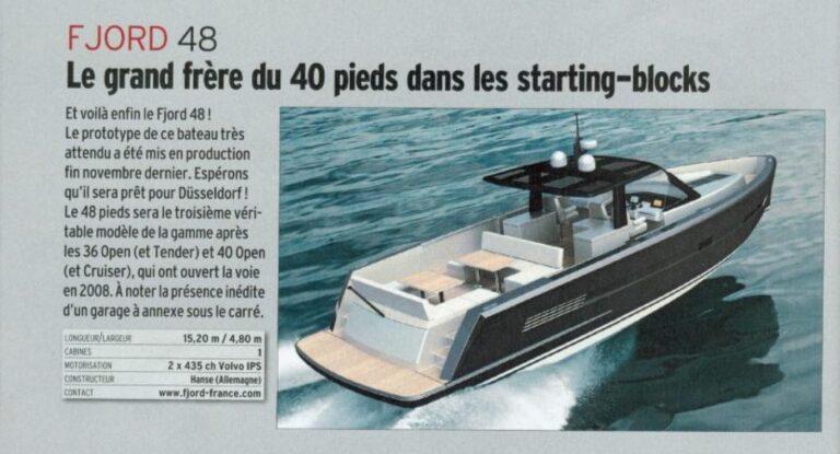 neptune yachting moteur et moteur boat magazine salon de dusseldorf le fjord 48 open 5 48 233